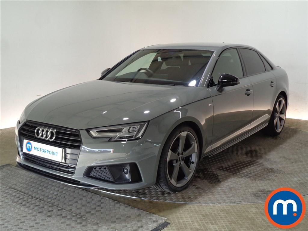 Audi A4 Black Edition - Stock Number 1089642 Passenger side front corner