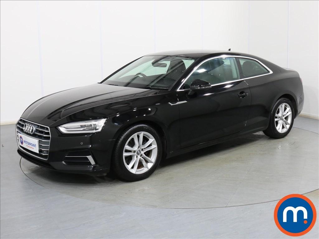 Audi A5 Sport - Stock Number 1093415 Passenger side front corner