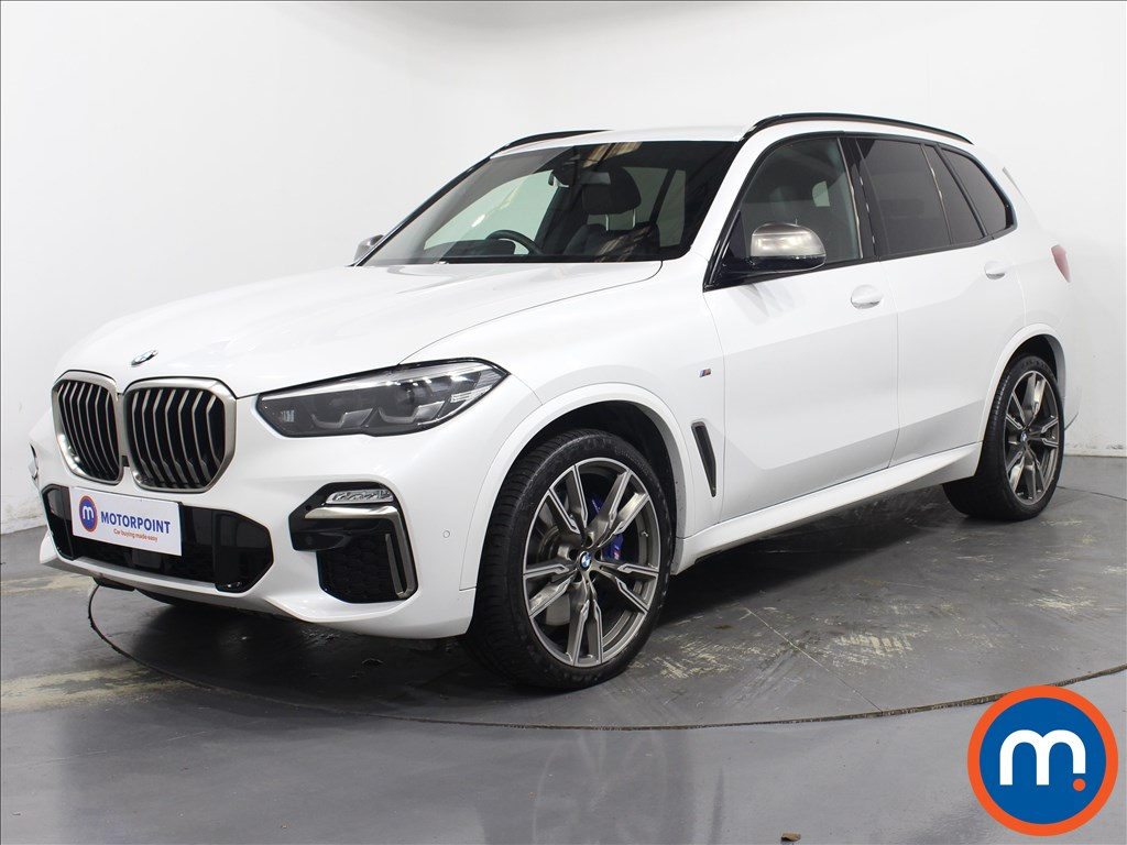 BMW X5 xDrive M50d 5dr Auto - Stock Number 1091256 Passenger side front corner