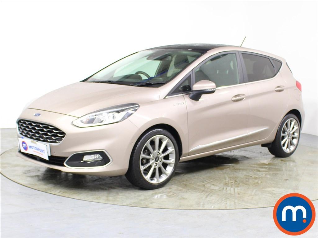 Ford Fiesta Vignale 1.0 EcoBoost 5dr - Stock Number 1092663 Passenger side front corner