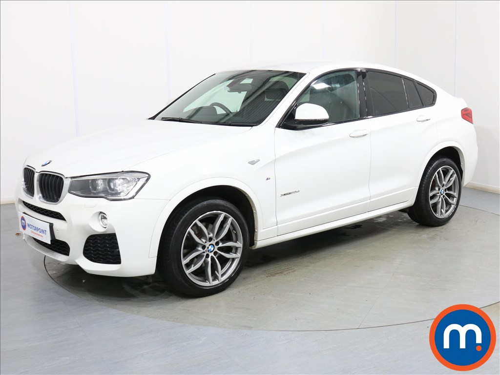 BMW X4 M Sport - Stock Number 1090272 Passenger side front corner