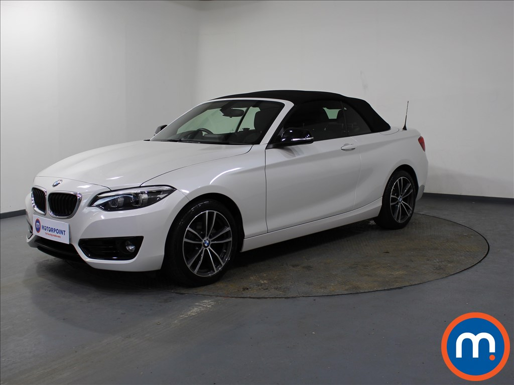 BMW 2 Series Sport - Stock Number 1093168 Passenger side front corner