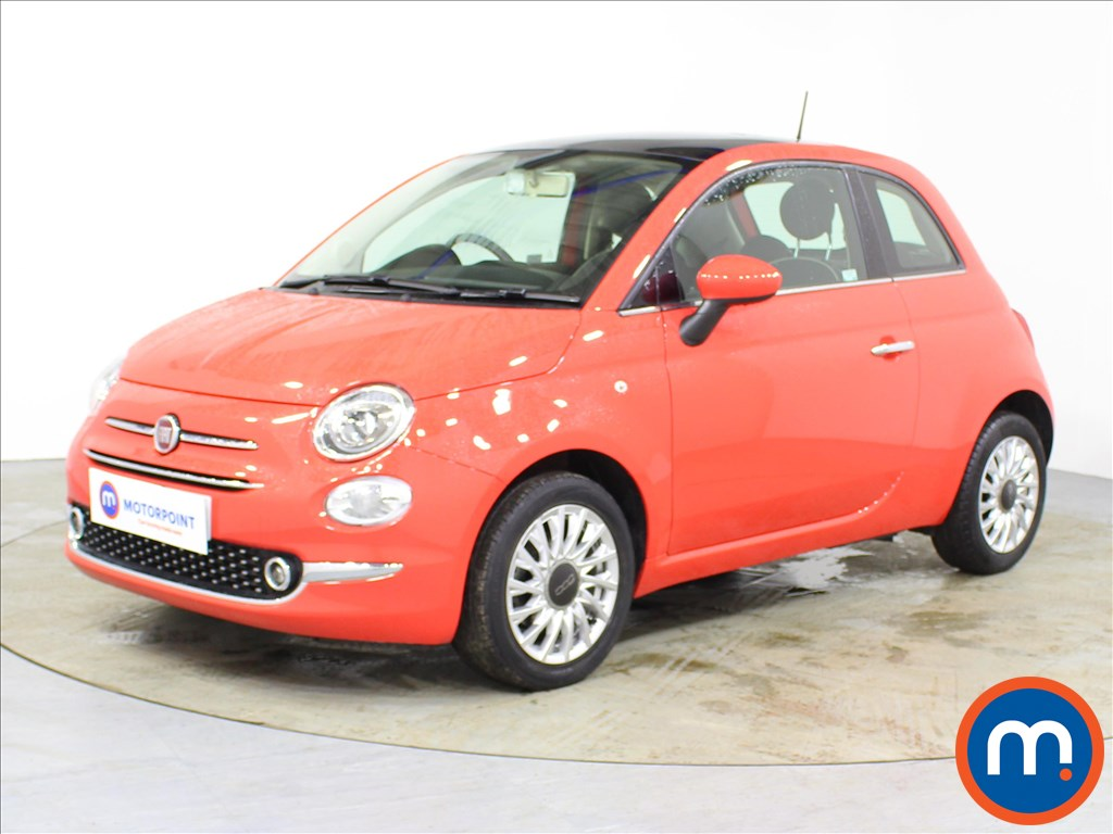 Fiat 500 Lounge - Stock Number 1091612 Passenger side front corner