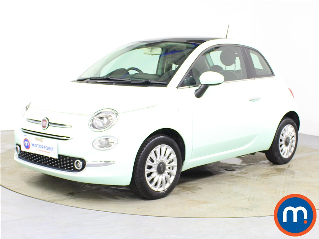Fiat 500 Lounge - Stock Number 1091624 Passenger side front corner