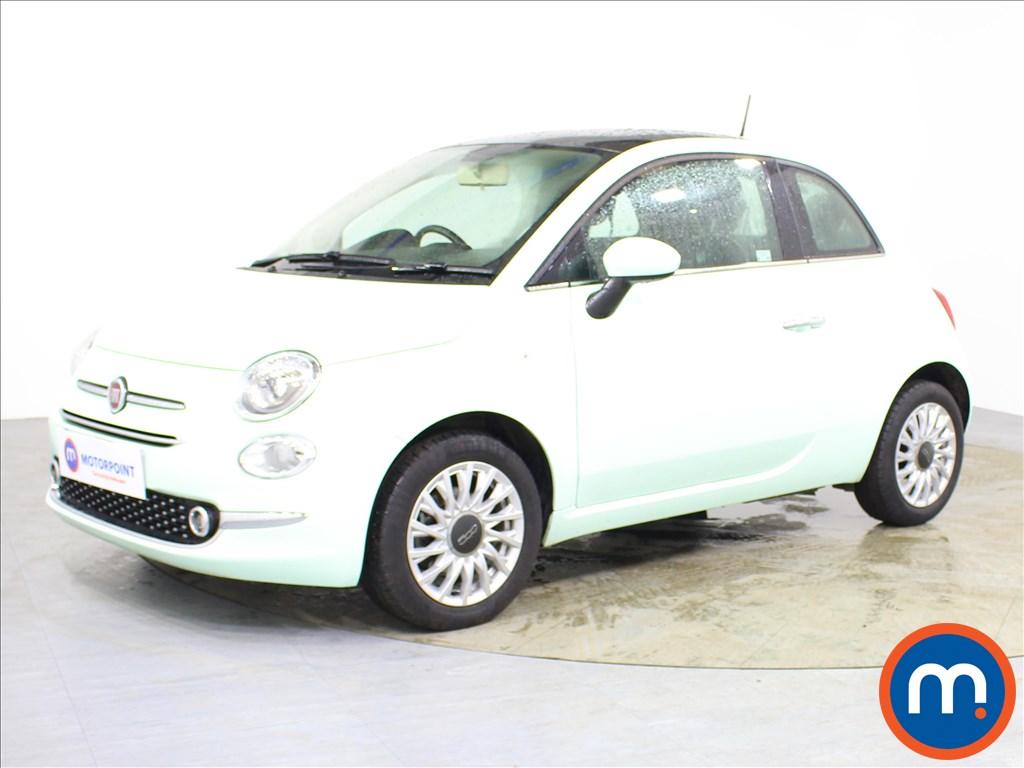 Fiat 500 Lounge - Stock Number 1091605 Passenger side front corner