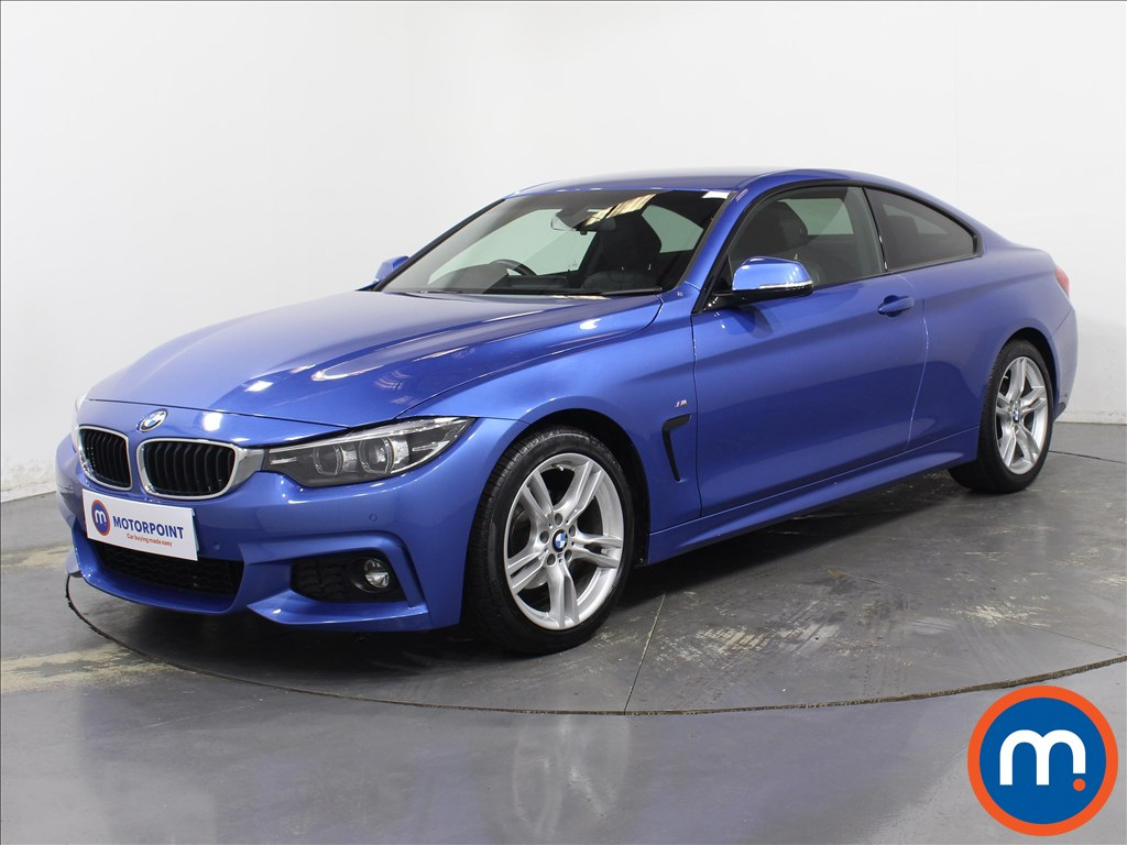 BMW 4 Series M Sport - Stock Number 1089632 Passenger side front corner