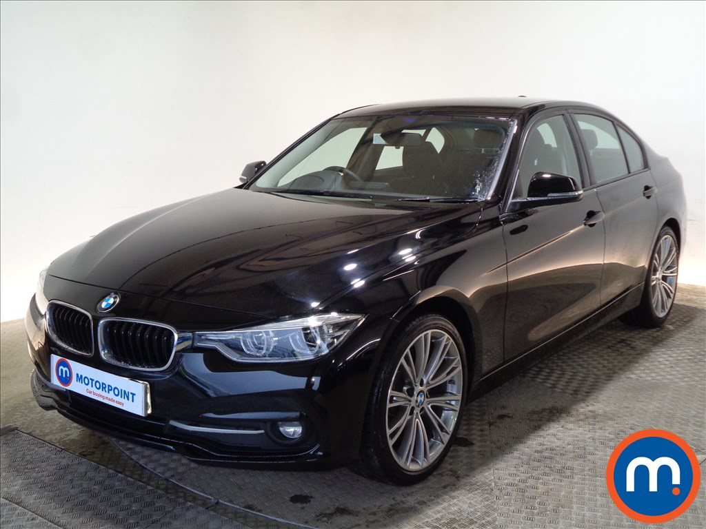 BMW 3 Series EfficientDynamics Sport - Stock Number 1089650 Passenger side front corner