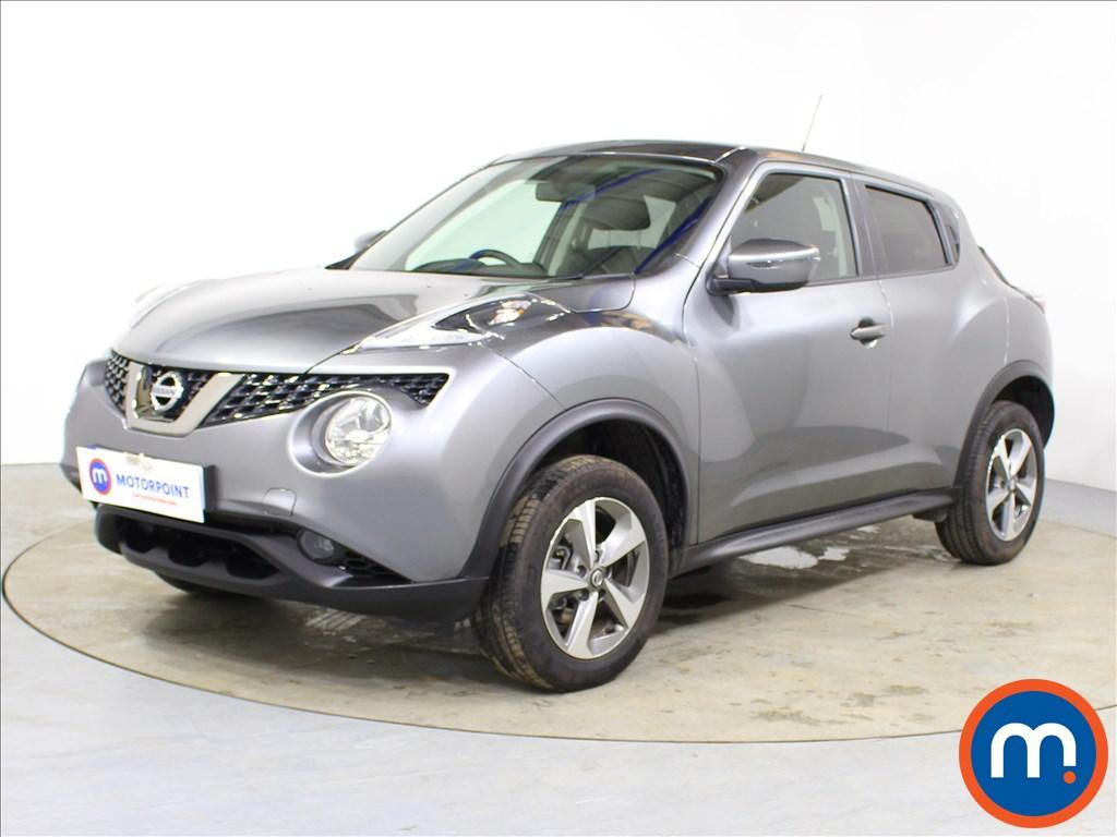 Nissan Juke Acenta - Stock Number 1090137 Passenger side front corner