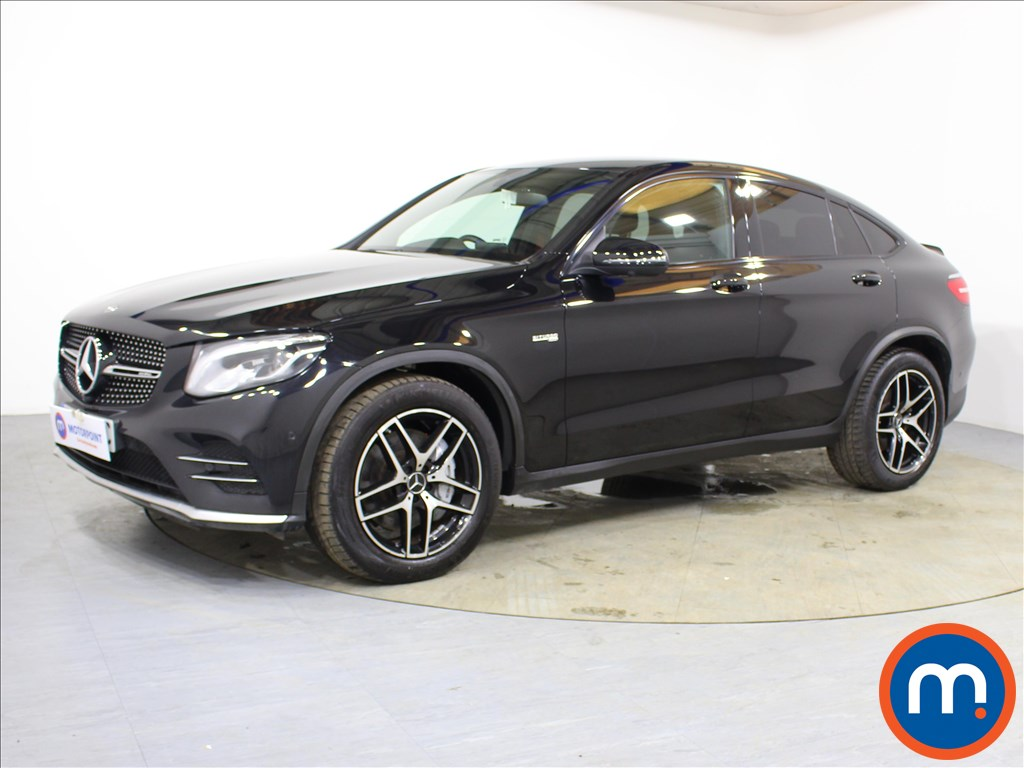 Mercedes-Benz Glc Coupe AMG - Stock Number 1067997 Passenger side front corner