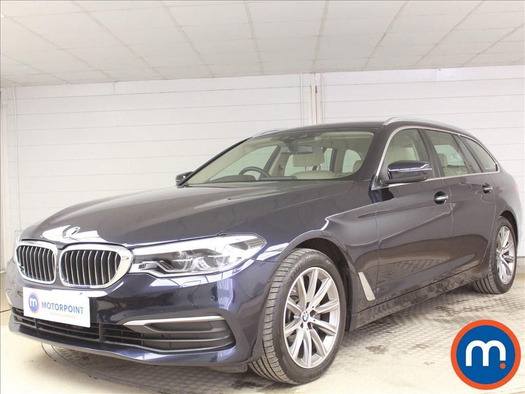BMW 5 Series SE - Stock Number 1075694 Passenger side front corner