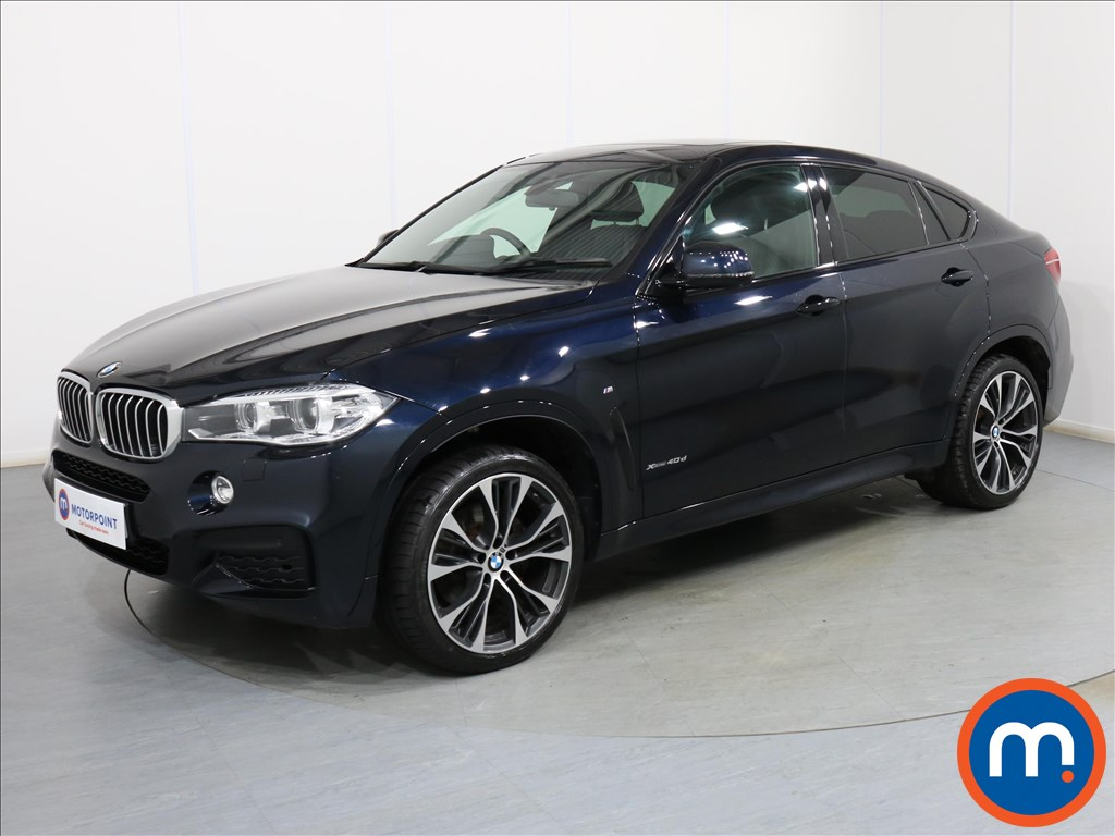 BMW X6 M Sport Edition - Stock Number 1091134 Passenger side front corner