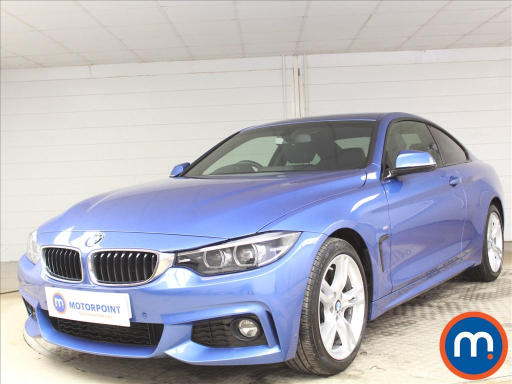 BMW 4 Series M Sport - Stock Number 1091165 Passenger side front corner