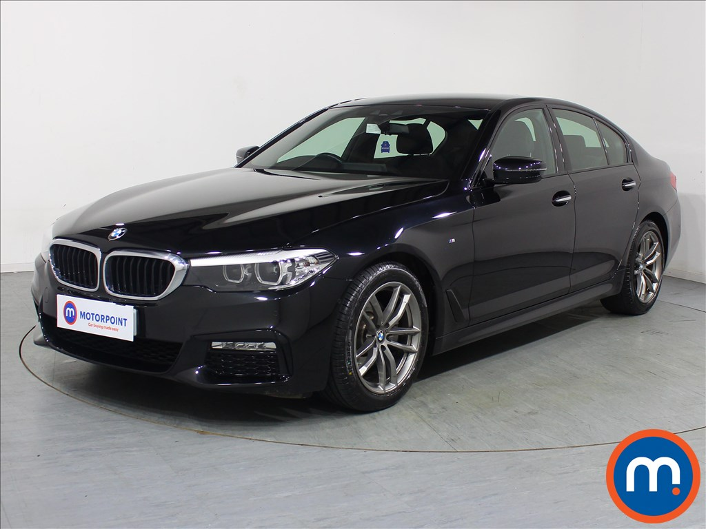 BMW 5 Series M Sport - Stock Number 1089710 Passenger side front corner