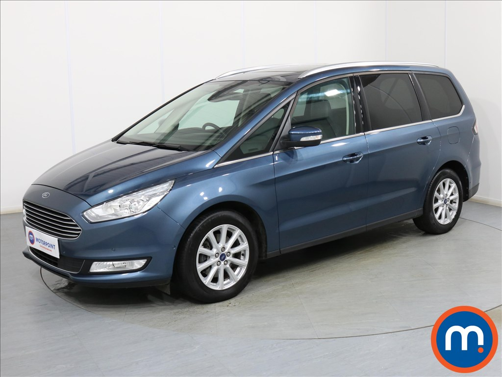 Ford Galaxy Titanium X - Stock Number 1090800 Passenger side front corner