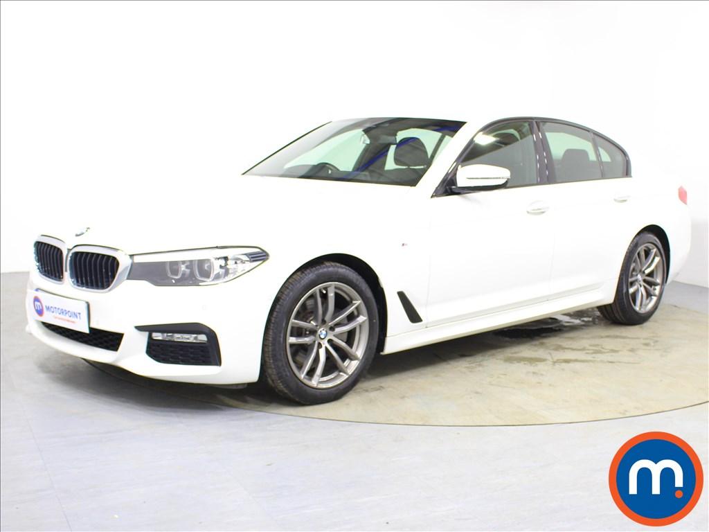 BMW 5 Series M Sport - Stock Number 1088971 Passenger side front corner