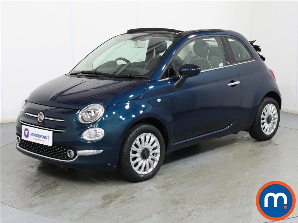 Fiat 500 Lounge - Stock Number 1093122 Passenger side front corner