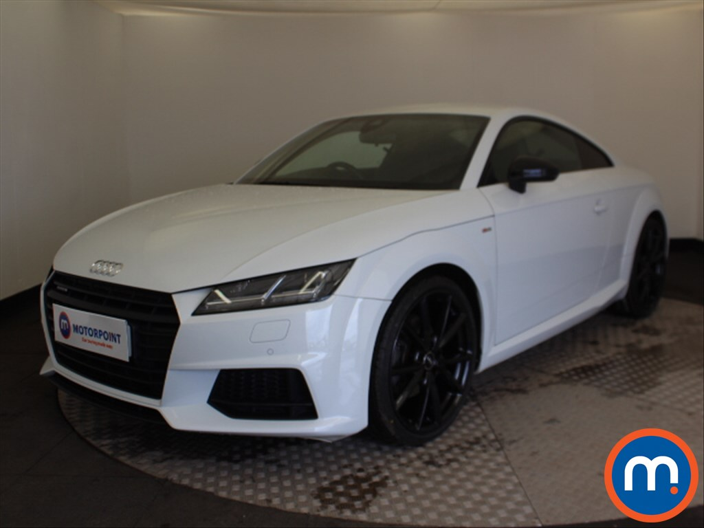 Audi TT Black Edition - Stock Number 1093452 Passenger side front corner