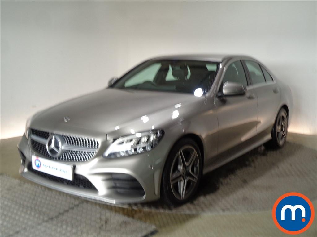 Mercedes-Benz C Class AMG Line - Stock Number 1091651 Passenger side front corner