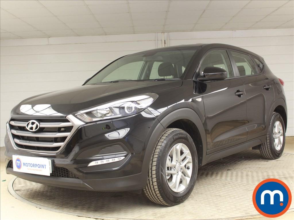 Hyundai Tucson S - Stock Number 1085227 Passenger side front corner