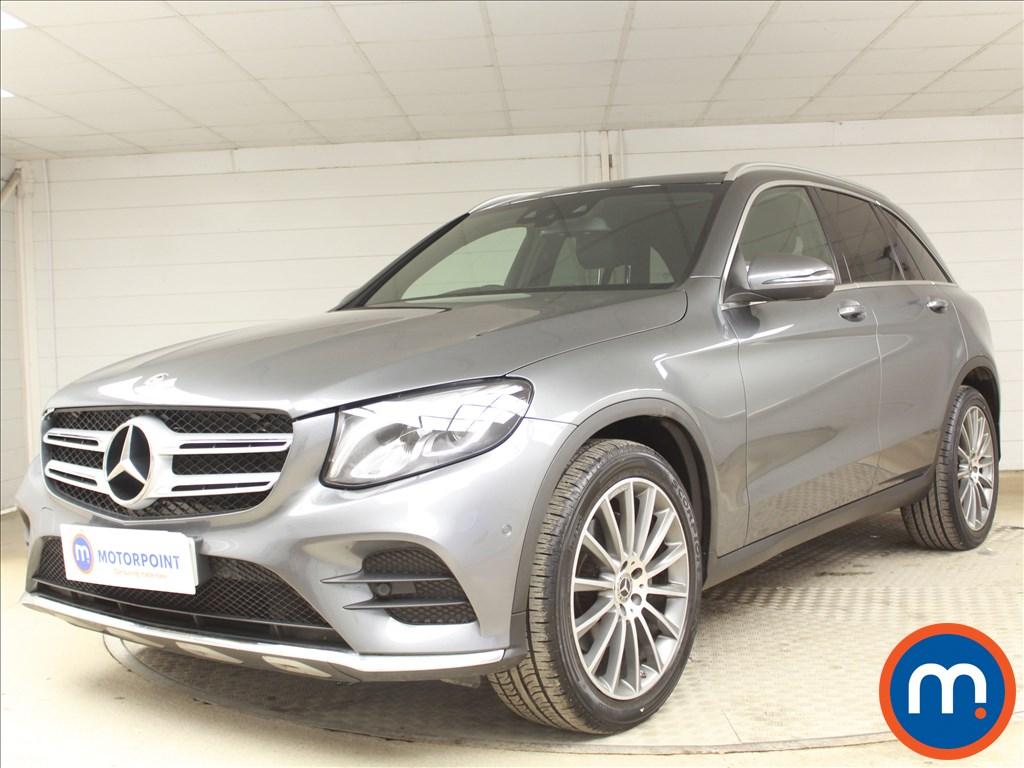 Mercedes-Benz GLC AMG Line - Stock Number 1093871 Passenger side front corner