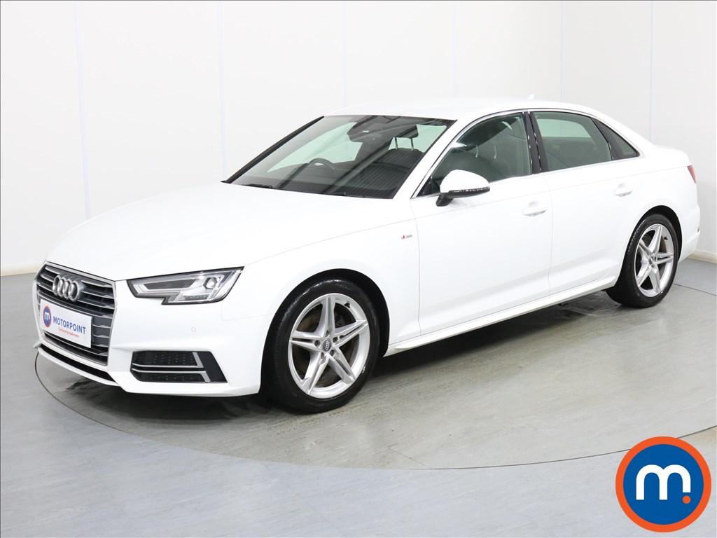 Audi A4 S Line - Stock Number 1095726 Passenger side front corner