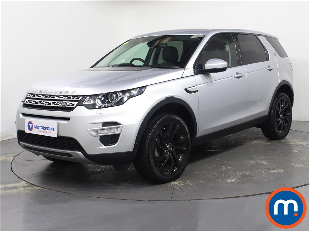 Land Rover Discovery Sport HSE Luxury - Stock Number 1092685 Passenger side front corner