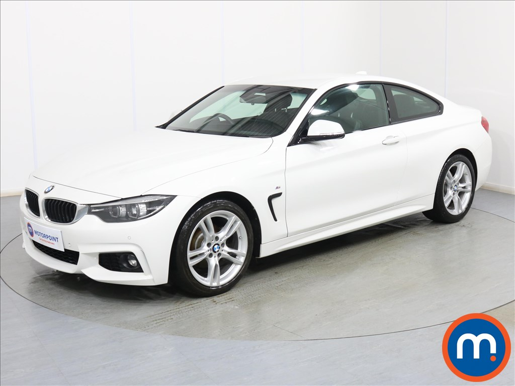 BMW 4 Series M Sport - Stock Number 1094548 Passenger side front corner