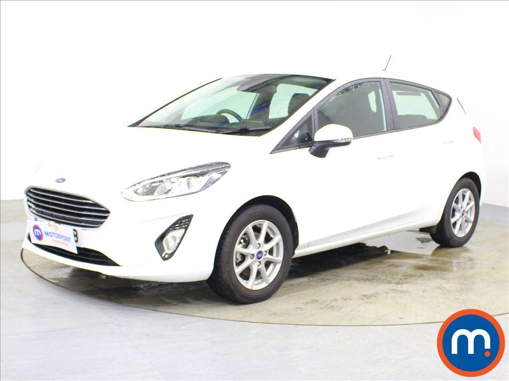 Ford Fiesta Zetec - Stock Number 1087020 Passenger side front corner