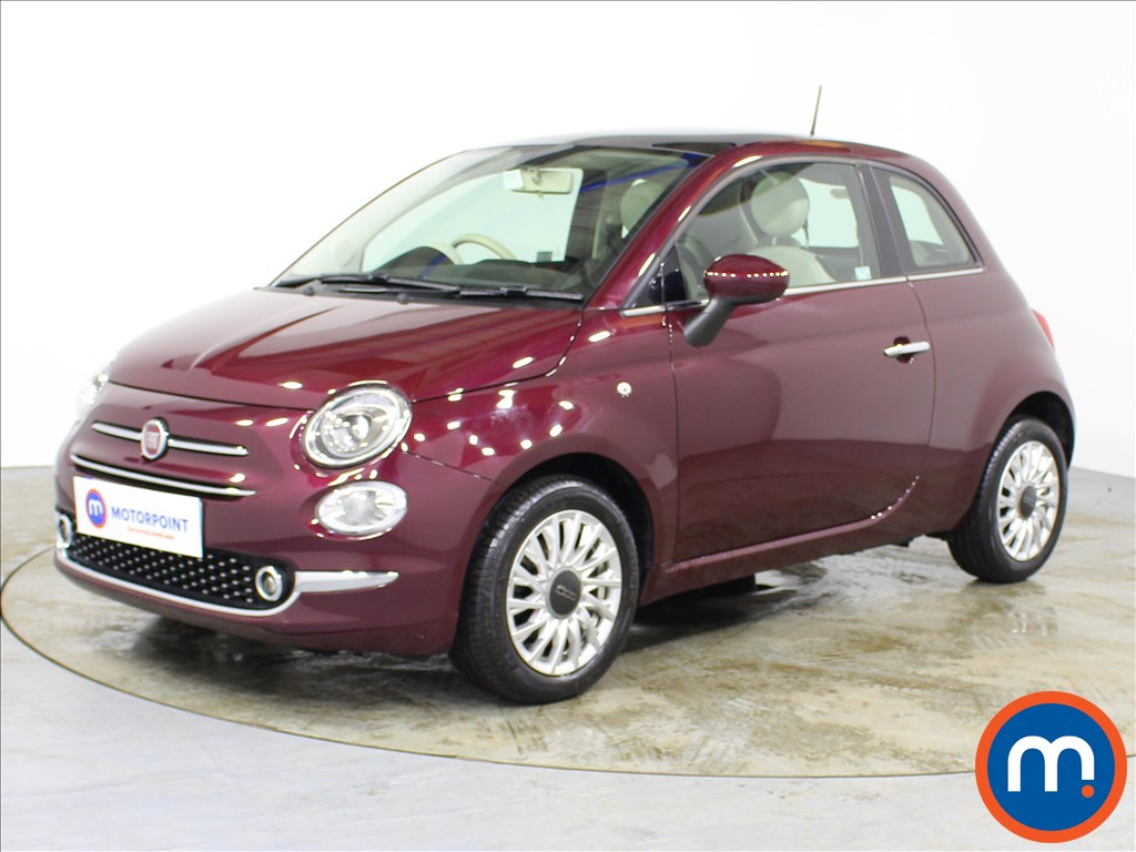 Fiat 500 Lounge - Stock Number 1089621 Passenger side front corner