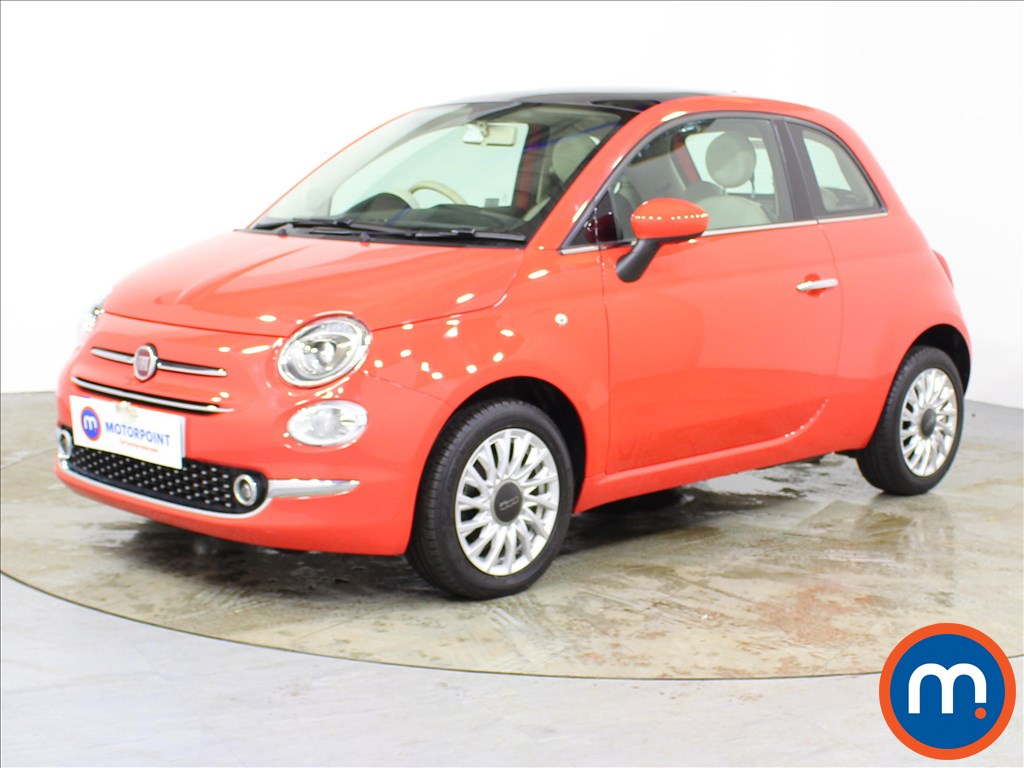 Fiat 500 Lounge - Stock Number 1092857 Passenger side front corner