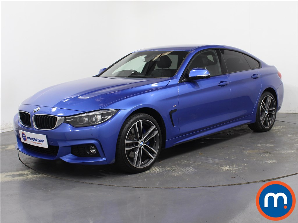 BMW 4 Series M Sport - Stock Number 1091442 Passenger side front corner
