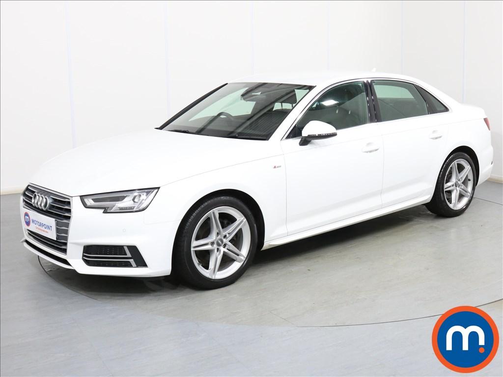 Audi A4 S Line - Stock Number 1092303 Passenger side front corner
