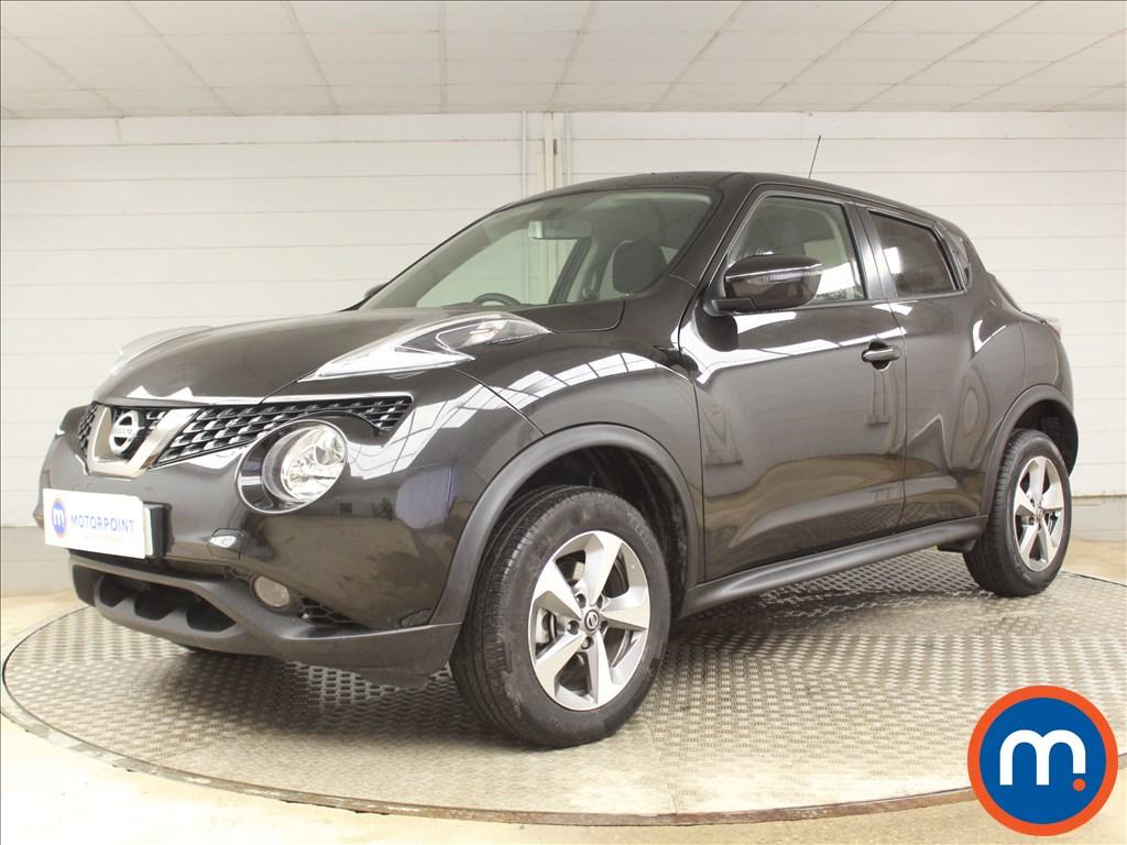 Nissan Juke Acenta - Stock Number 1090139 Passenger side front corner