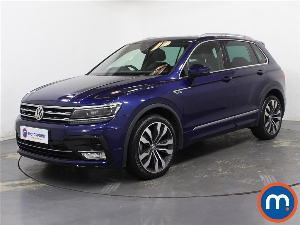 Volkswagen Tiguan R Line - Stock Number 1087574 Passenger side front corner