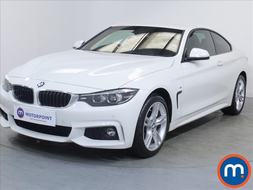 BMW 4 Series M Sport - Stock Number 1090973 Passenger side front corner