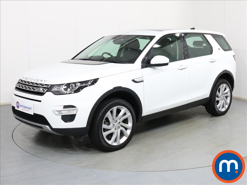 Land Rover Discovery Sport HSE Luxury - Stock Number 1096668 Passenger side front corner