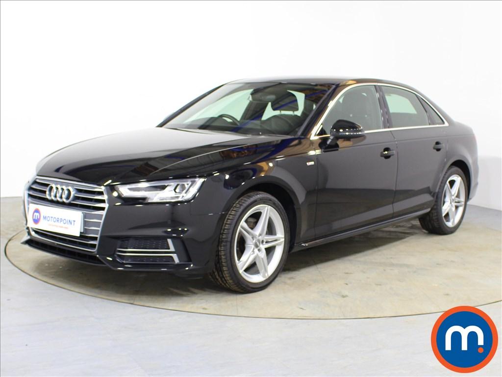 Audi A4 S Line - Stock Number 1092304 Passenger side front corner