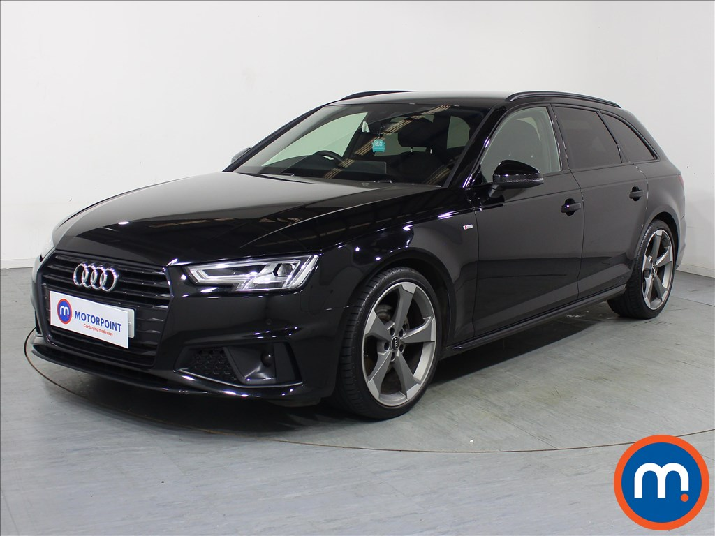 Audi A4 Black Edition - Stock Number 1089365 Passenger side front corner