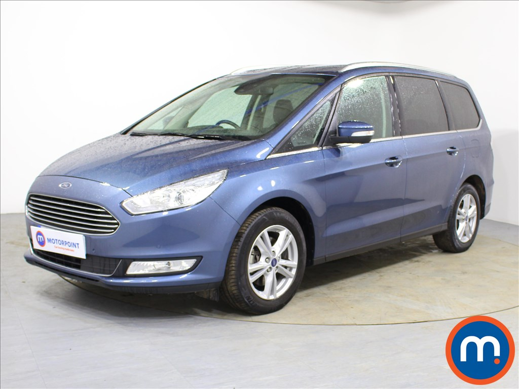 Ford Galaxy Titanium - Stock Number 1090941 Passenger side front corner