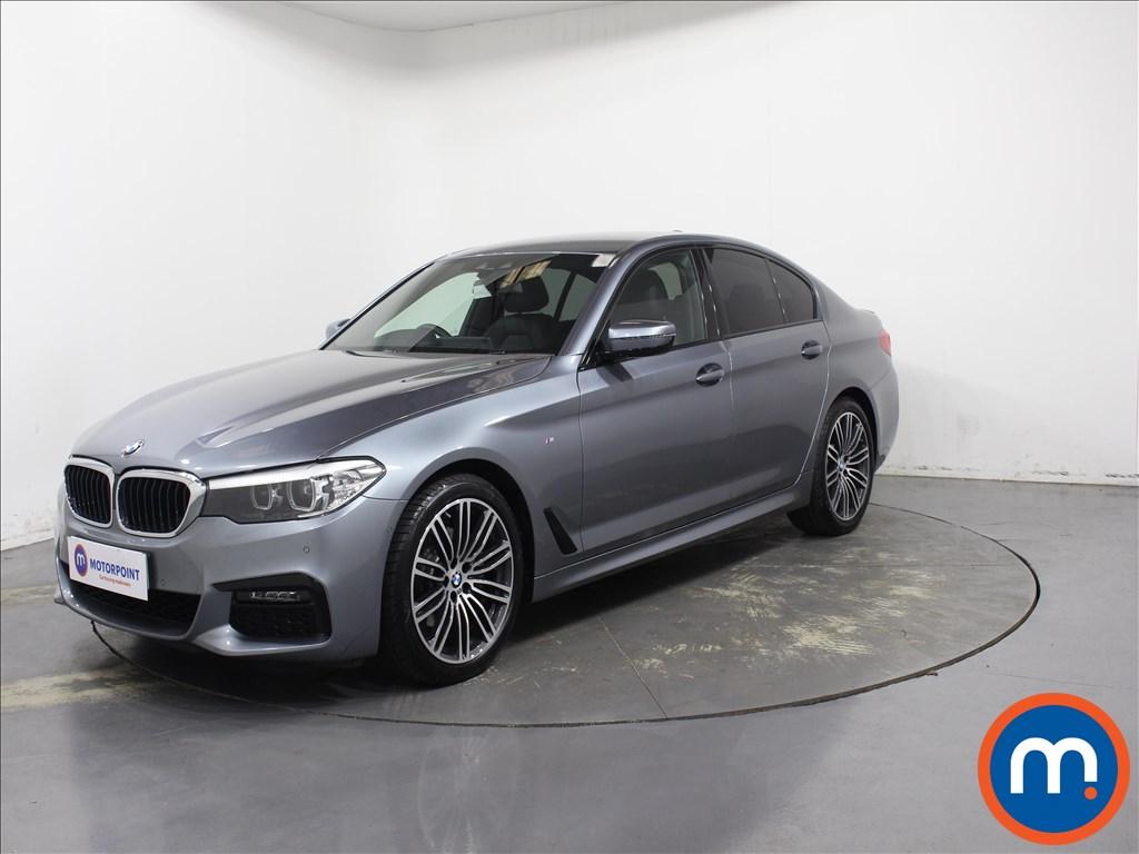 BMW 5 Series M Sport - Stock Number 1095208 Passenger side front corner
