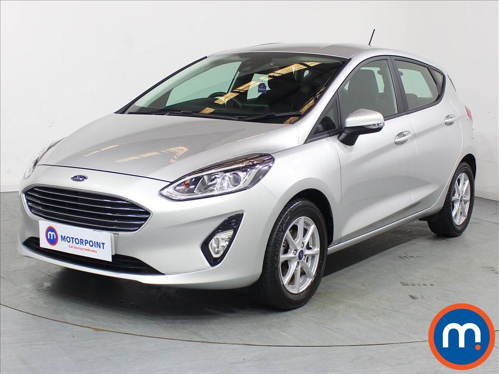 Ford Fiesta Zetec - Stock Number 1096226 Passenger side front corner