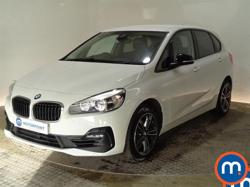 BMW 2 Series Sport - Stock Number 1091379 Passenger side front corner