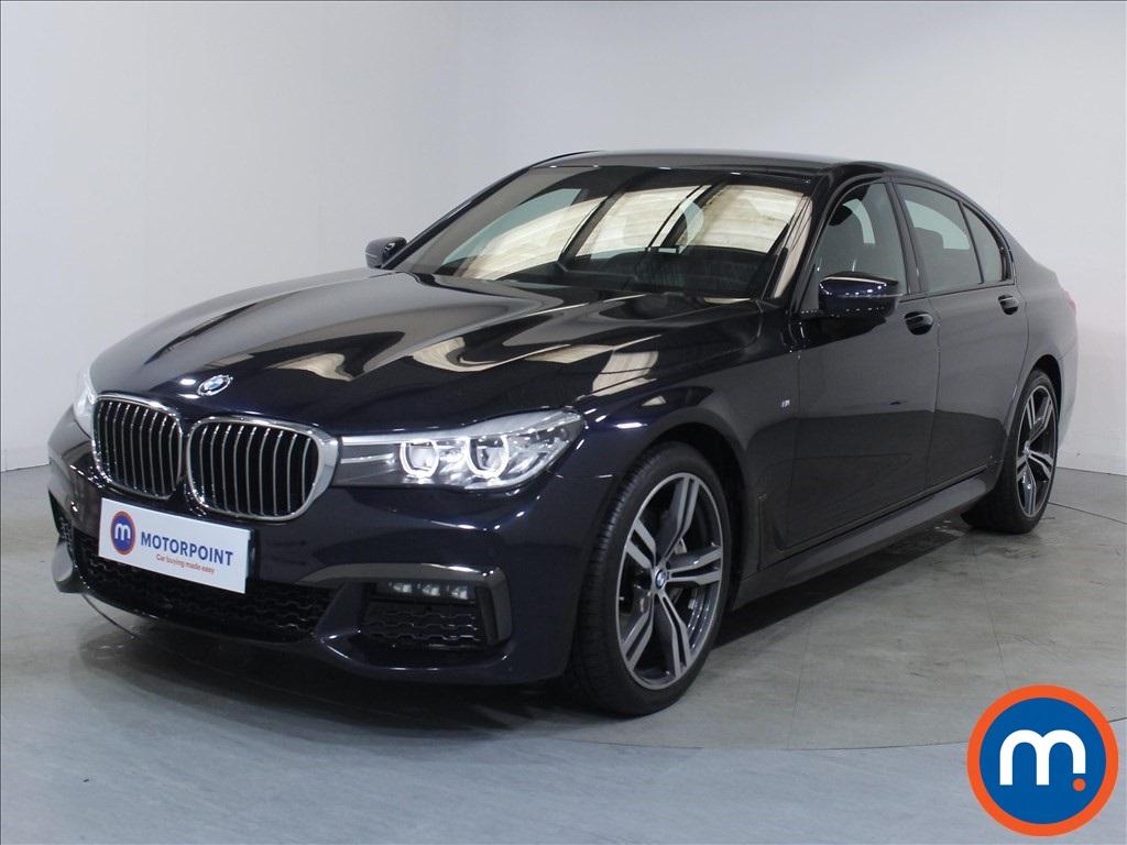 BMW 7 Series M Sport - Stock Number 1047688 Passenger side front corner