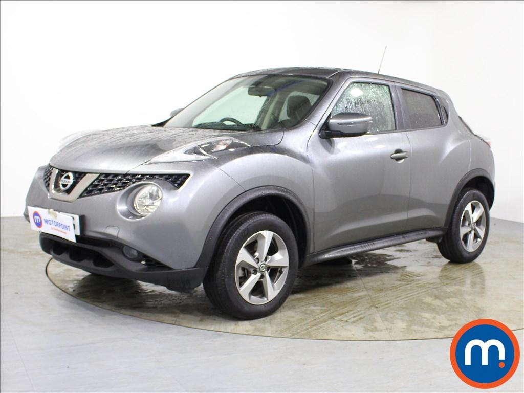 Nissan Juke Acenta - Stock Number 1090090 Passenger side front corner