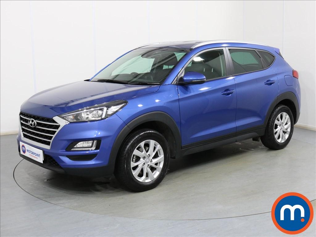 Hyundai Tucson SE Nav - Stock Number 1096827 Passenger side front corner