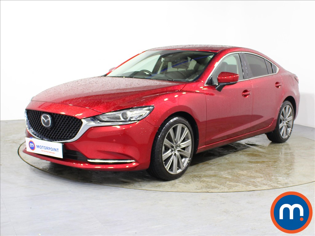 Mazda 6 Sport Nav-Plus - Stock Number 1092280 Passenger side front corner