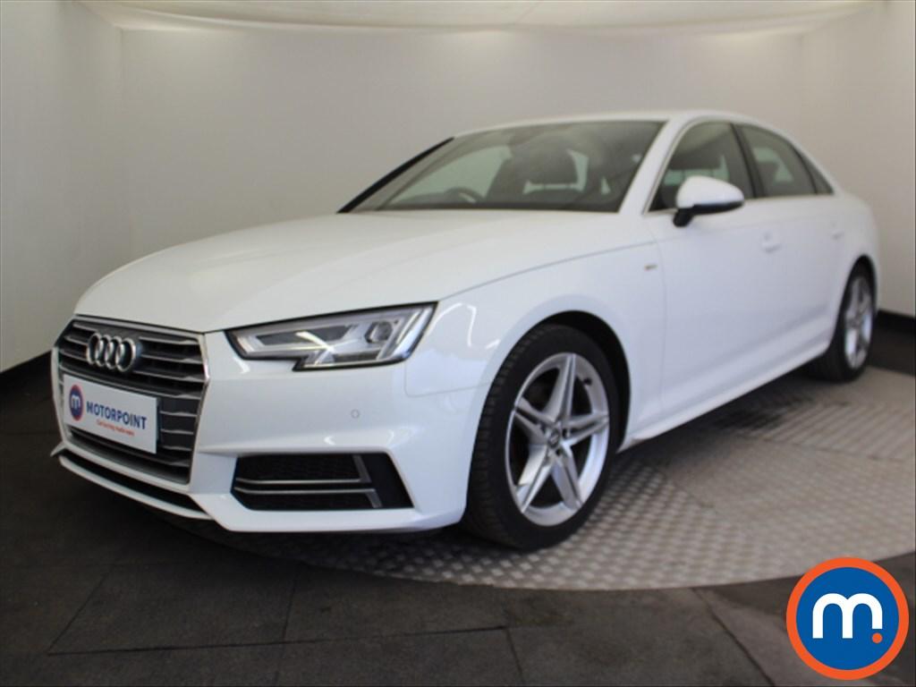 Audi A4 S Line - Stock Number 1095716 Passenger side front corner