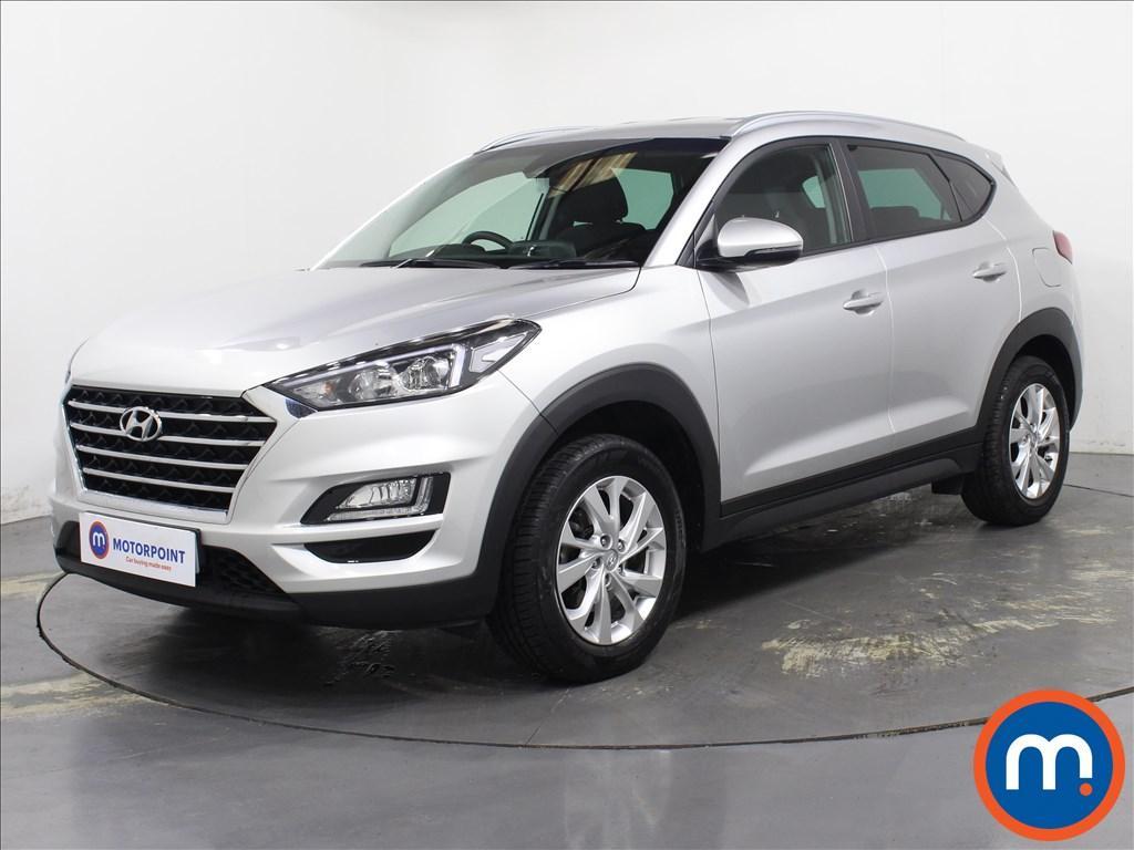 Hyundai Tucson SE Nav - Stock Number 1096622 Passenger side front corner