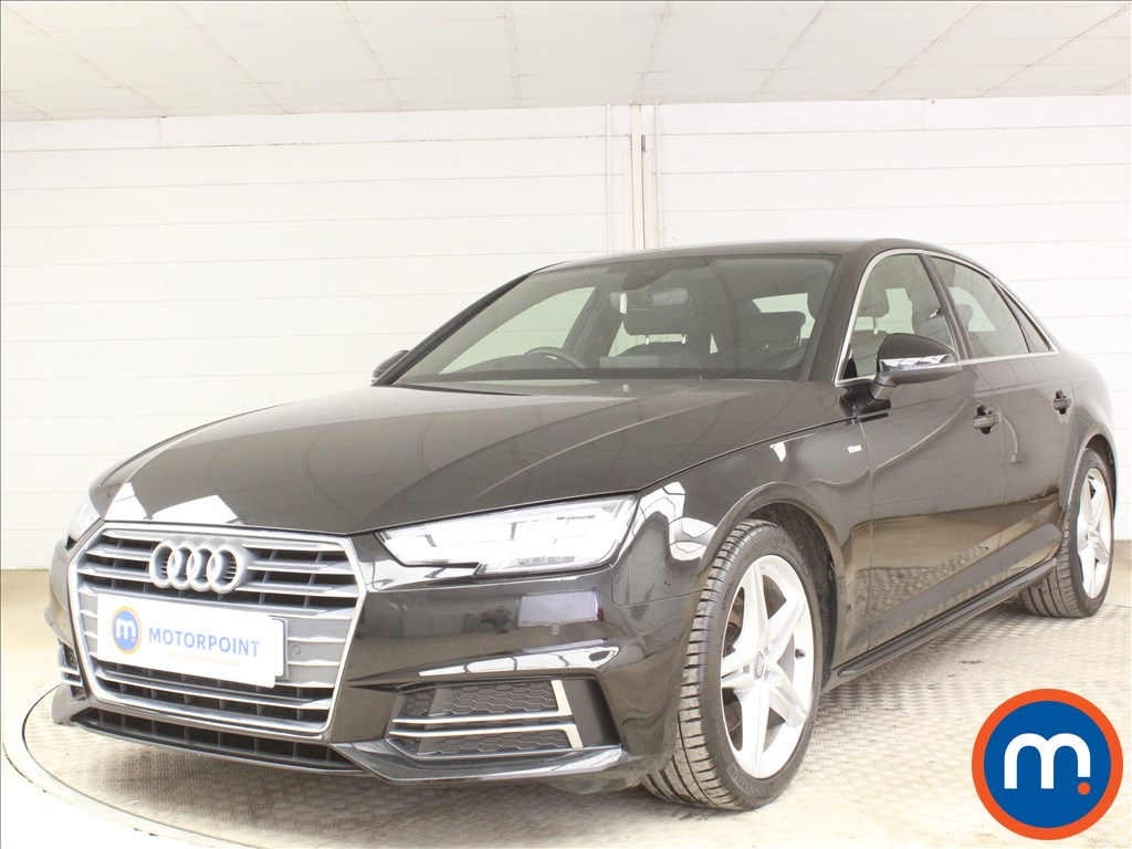 Audi A4 S Line - Stock Number 1093510 Passenger side front corner