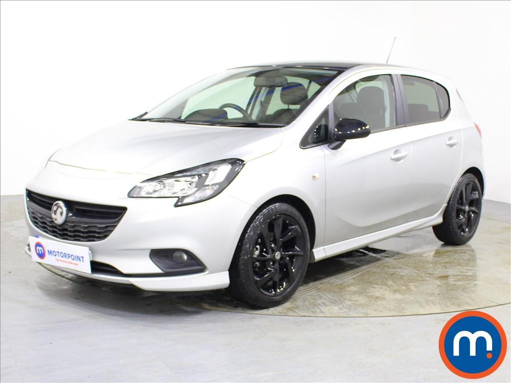 Vauxhall Corsa SRi Vx-line Nav Black - Stock Number 1095975 Passenger side front corner